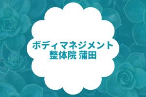 ボディマネジメント整体院 蒲田