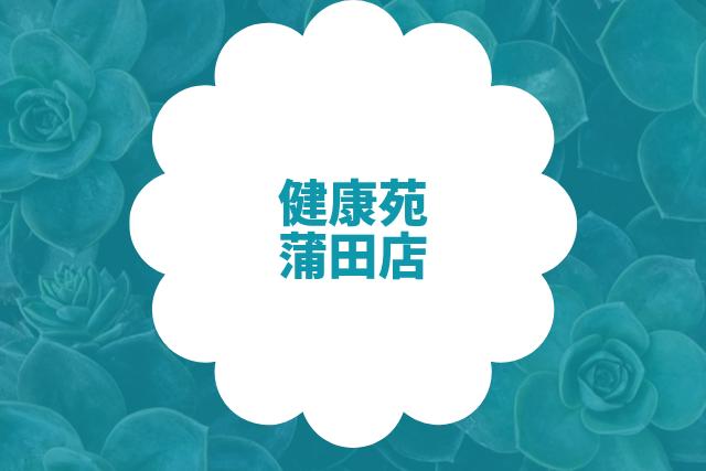 健康苑 新台湾式リフレクソロジー 蒲田店