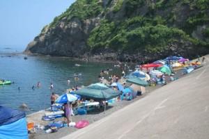 上輪海水浴場