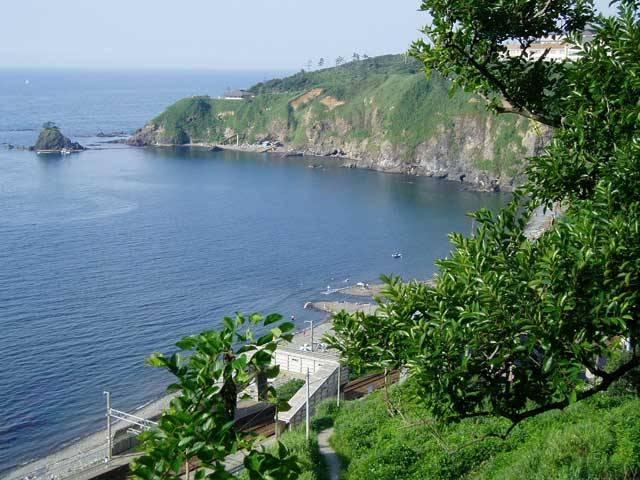 青海川海水浴場